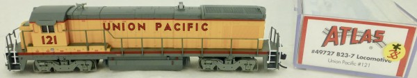 Atlas 49727 B23-7 Union Pacific 121 Diesellok Decoder Ready OVP N 1:160 #38* å