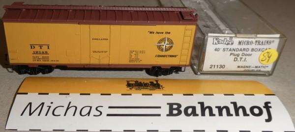 D.T.I. 19140 40´ St Boxcar Micro Trains Line 21130 N 1:160 Ä84 å