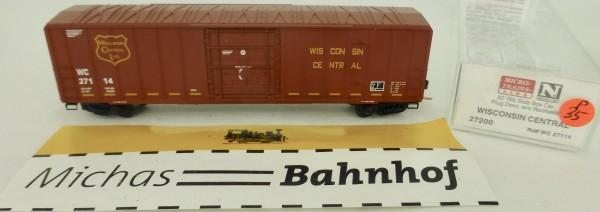 Wisconsin Central 50' Rib Side Boxcar 27114 Micro Trains Line 27200 1:160 P35 å