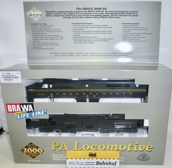 PRR 5750A PA Locomotive Proto 2000 30498 H0 1:87 OVP KB3 µ *