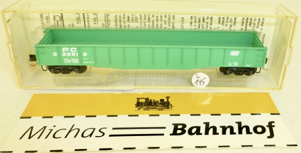 MICRO TRAINS 46060 Penn Central 336618 50' Gondola drop ends N 1:160 #145L.å