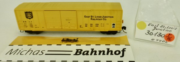 East St. Louis Junction 50' Rib Side Box Car Micro Trains Line 30130 1:160 P76 å