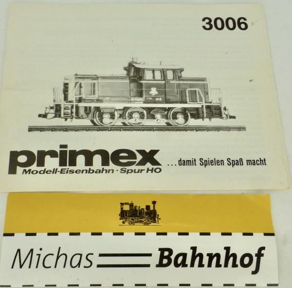 3006 Primex Märklin Anleitung å