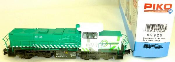 G 1206 Train Group TG-105 Diesellok EpVI Piko 59926 H0 1:87 OVP HH4 µ *