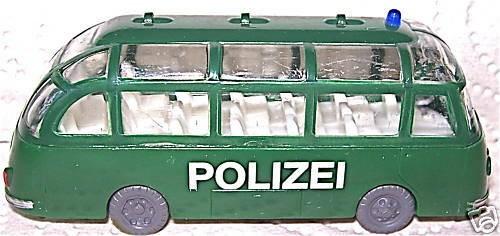 POLIZEI Kässbohrer Setra BUS Epoche III 1:87 H0 å