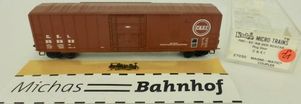 C&EI 50' Rib Side Boxcar 252882 Micro Trains Line 27030 1:160 P21 å
