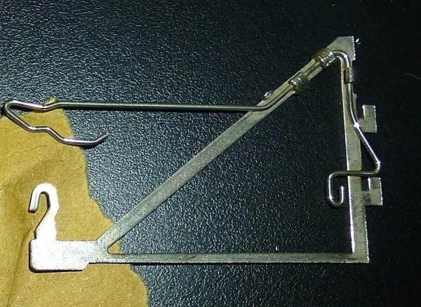 3 Stück Oberleitung Ausleger 409 ZA Märklin H0 1:87 LI4 å *