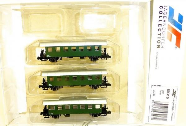 3 tlg Set Bi Anhänger Jägerndorfer 60310 N 1:160 OVP Neu HR3 å *