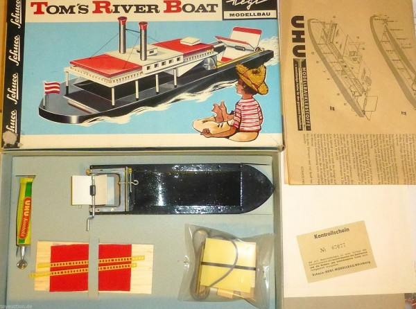 Toms River Boat Hegi Schuco Bausatz ungebaut 506/1 OVP å *