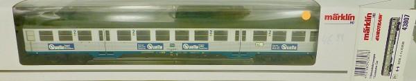 Märklin 43807 Silberling Nahverkehrswagen Bnb 719 2te. Kl H0 1:87 NEU µ