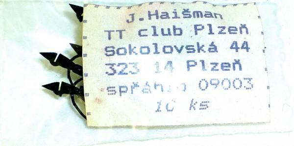 10x Stangenkupplung Schlitzaufnahme Bremsschläuche Plastik Kupplung 1:120 TT å *
