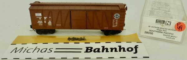 Southern P 40' Outside Braced Box Car 26360 Micro Trains Line 28030 1:160 P49 å