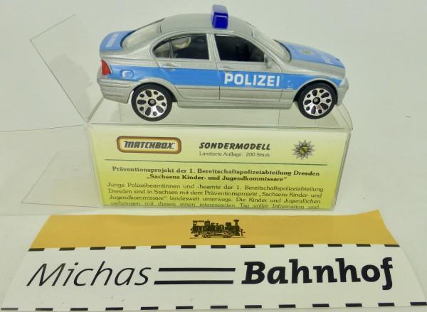 1. BPA Dresden Sachsen BMW 328i Matchbox Sondermodell limitiert 1:59 OVP å