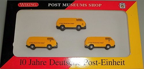 10 Jahre Deutsche Post Einheit T3 Werbemodell WIKING 1:87 å