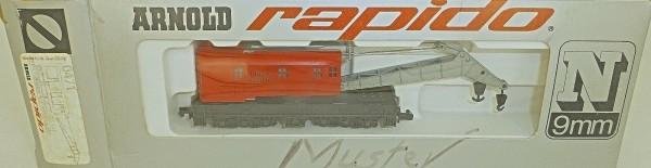 Kranwagen Union Pacific ARNOLD rapido 0471 N 1:160 OVP HU3 å *
