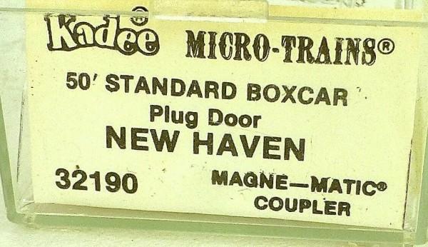 50´ Standard Boxcar NEW HAVEN 40603 Micro Trains Line 32190 N 1:160 C å *