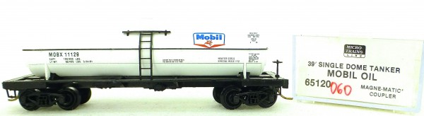 Micro Trains Line 65120 Mobil 11129 39' Single Dome Tank Car 1:160 OVP #i060 å
