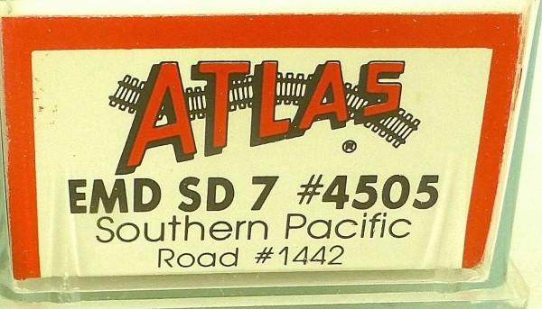 ATLAS 4505 KATO EMD SD 7 Southern Pacific 1442 Diesellok N 1:160 OVP ∑ å *
