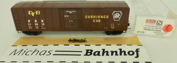 Pennsylvania 50' Rib Side Boxcar PRR 112015 Micro Trains Line 27170 1:160 P32 å