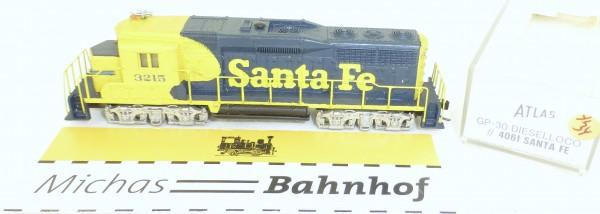 Atlas GP-30 Santa Fe 4061 Diesellok OVP N 1:160 #34% å