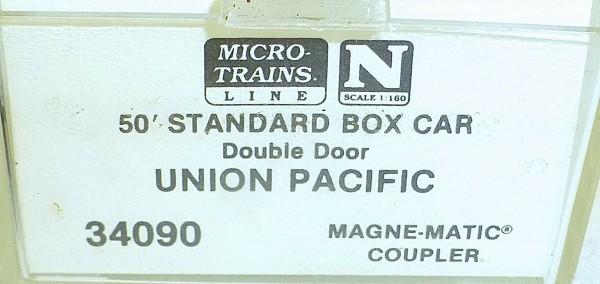 Micro-Trains Line 34090 Union Pacific 50' Standard Box Car N 1:160 A å *