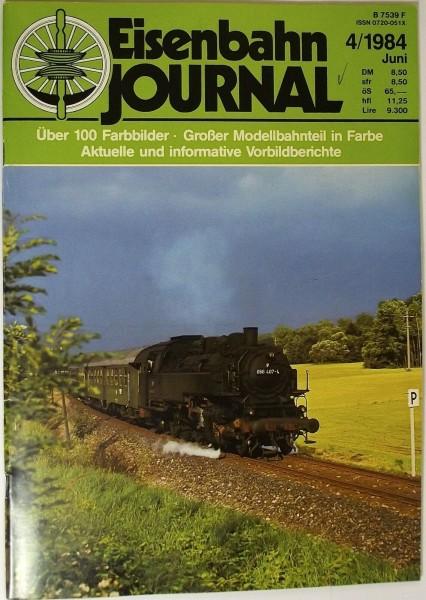 Eisenbahn Journal 4/1984 Juni, Abschied vom Betriebsdienst