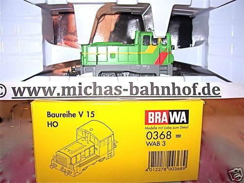 V15 WAB 3 Diesellok Almetalbahn BRAWA 0368 NEU 1/87 µ*