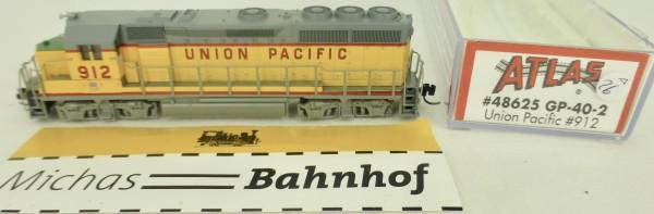 GP-40 Union Pacific 912 Atlas 48625 Diesellok N 1:160 OVP ∆26 å