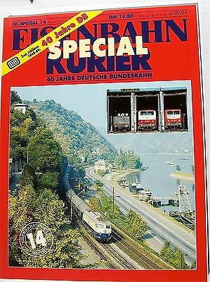 EK-Special 14 Sep.-Nov. 1989 Zum Jubiläum 1949-89 Die Deutsche Bundesbahn å