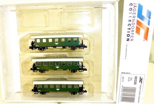 3 tlg Set Bi Anhänger Jägerndorfer 60320 N 1:160 OVP Neu HR3 å *