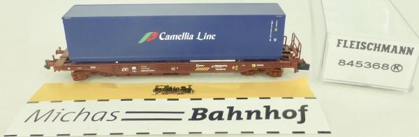 Einheitstaschenwagen Sdgkkmss Camellia Line RENFE Fleischmann 845368 N 1:160 HS2 µ