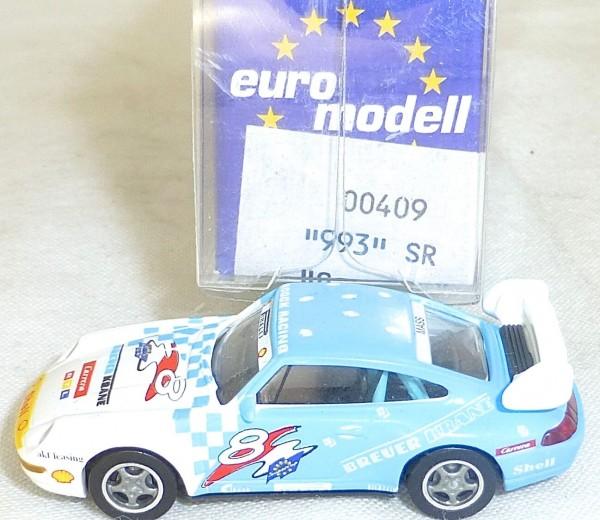 Porsche Carrera 993 SR IMU EUROMODELL 00409 BREUER KRANE H0 1:87 OVP # GA5 å