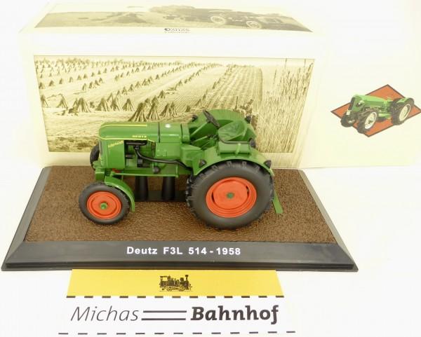 Deutz F3L 514 1958 Traktor ATLAS 1:32 OVP 7517008 NEU Li1 µ *