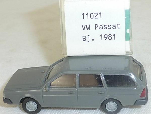 Anthrazit VW Passat Bj 1981 IMU EUROMODELL 11021 H0 1:87 OVP #HO 1 å