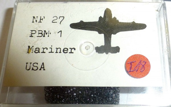 NF 27 PBM 1 Mariner unlackiert USA zu Schiffsmodell 1:1250 SHPI18 å *