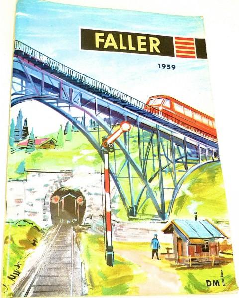 FALLER Katalog 1959 å *