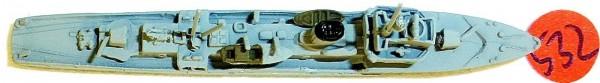 Minensucher Neptun 1082A Schiffsmodell 1:1250 SHP532 å *
