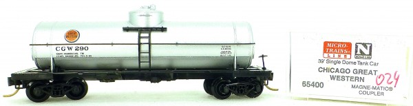 Micro Trains Line 65400 CGW 290 39' Single Dome Tank Car 1:160 OVP #i024 å