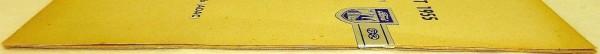 2. OKTOBER 1955 ADAC Rheinlandfahrt Nürburgring PROGRAMMHEFT mit Siegel VII15 å*