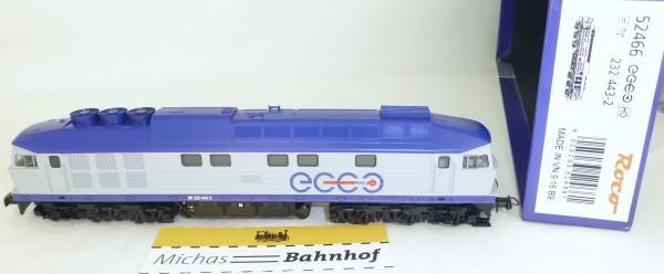 Roco 52466 BR 232 443-2 Ecco Rail EpVI H0 1:87 NEU OVP µ