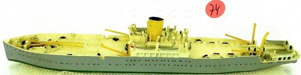 Jan Wellem Schiffsmodell 1:1250 SHP74 å