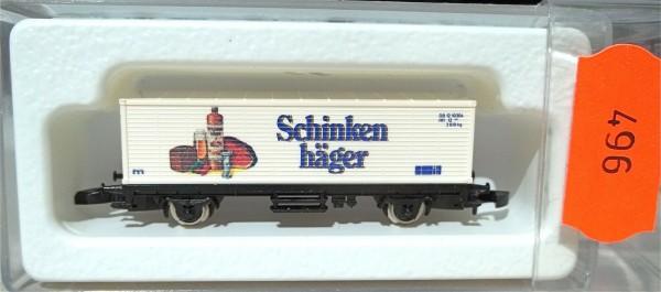Schinkenhäger Containerwagen Kolls 90002 Märklin 8615 Spur Z 1/220 *496* # å