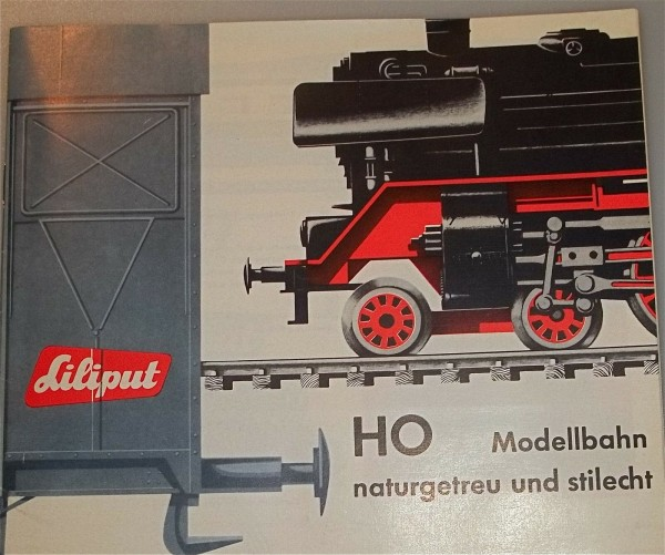 1963/63 Liliput Katalog å *