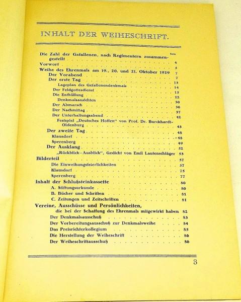 Gefallenen Kameraden Eisenbahntruppen Weihe des Ehrenmals Schöneberg 1929 GB3 å√