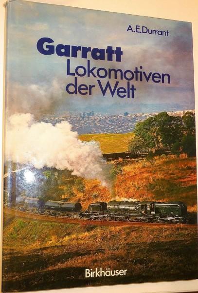 Garant Lokomotiven der Welt Durrant Birkhäuser Buch HV6 å*
