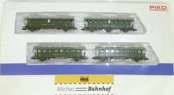SBB-CFF Schweizer Oldtimerwagen Set 6 PIKO 94345 N 1:160 NEU OVP HS4 µ*