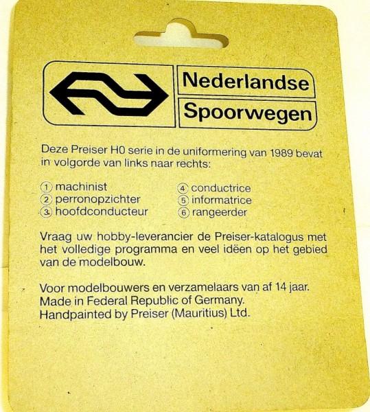 speciale produktie 150 jaar spoorwegen Nederland PREISER 00213 H0 1:87 OVP å *