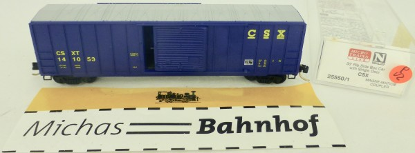 CSX 50' Rib Side Boxcar 141053 Micro Trains Line 25550/1 1:160 P02 å