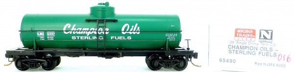 Micro Trains Line 65490 HJMX 6002 39' Single Dome Tank Car 1:160 OVP #i016 å