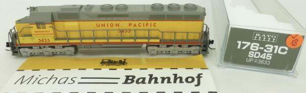 SD45 UP 3633 Union Pacific KATO 176-31C Diesellok N 1:160 OVP V18 å *
